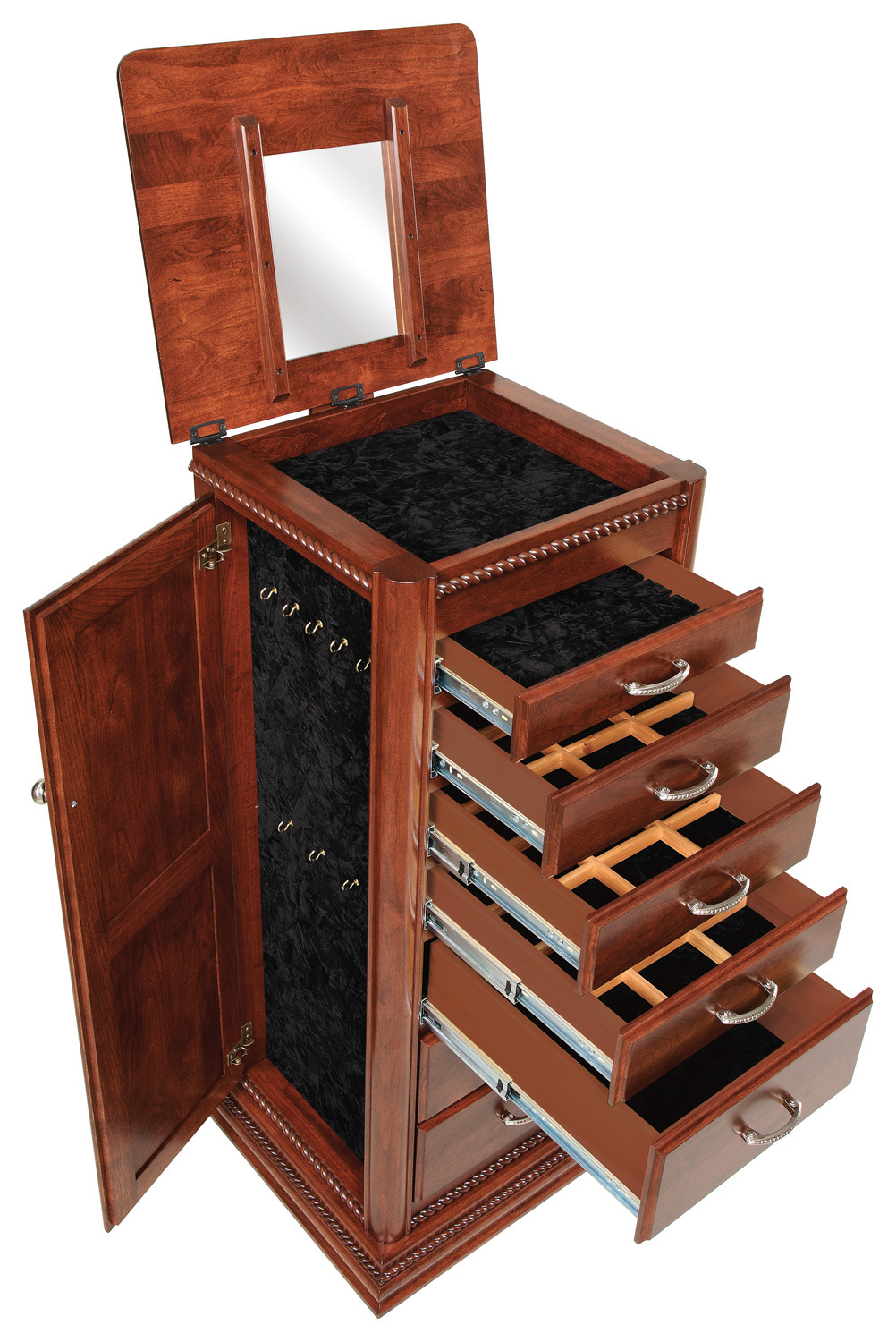 amish-jewelry-armoire-with-rope-twist