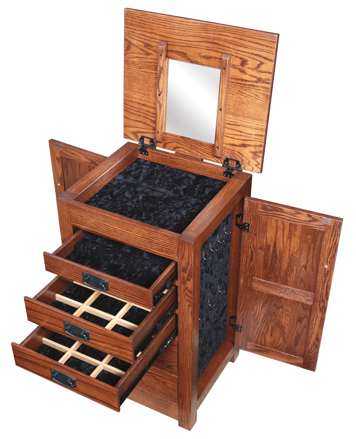 amish-mission-jewelry-armoire