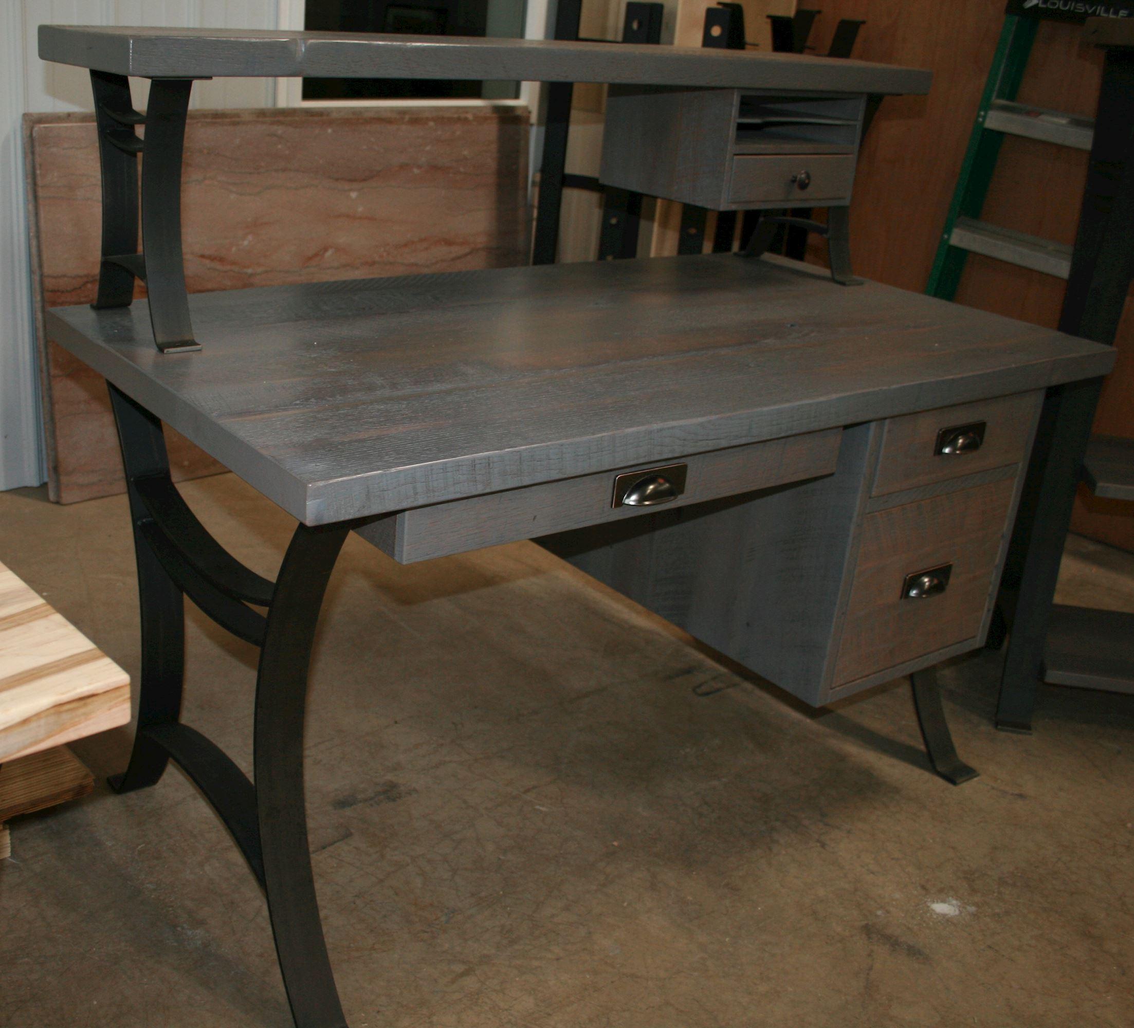 Amish Reclaimed Barnwood Desk