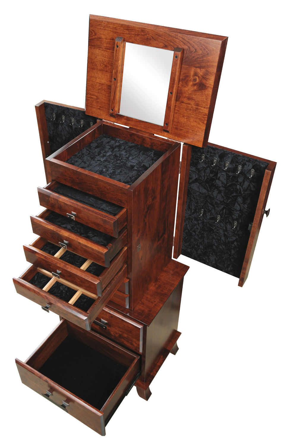 amish-shaker-jewelry-armoire