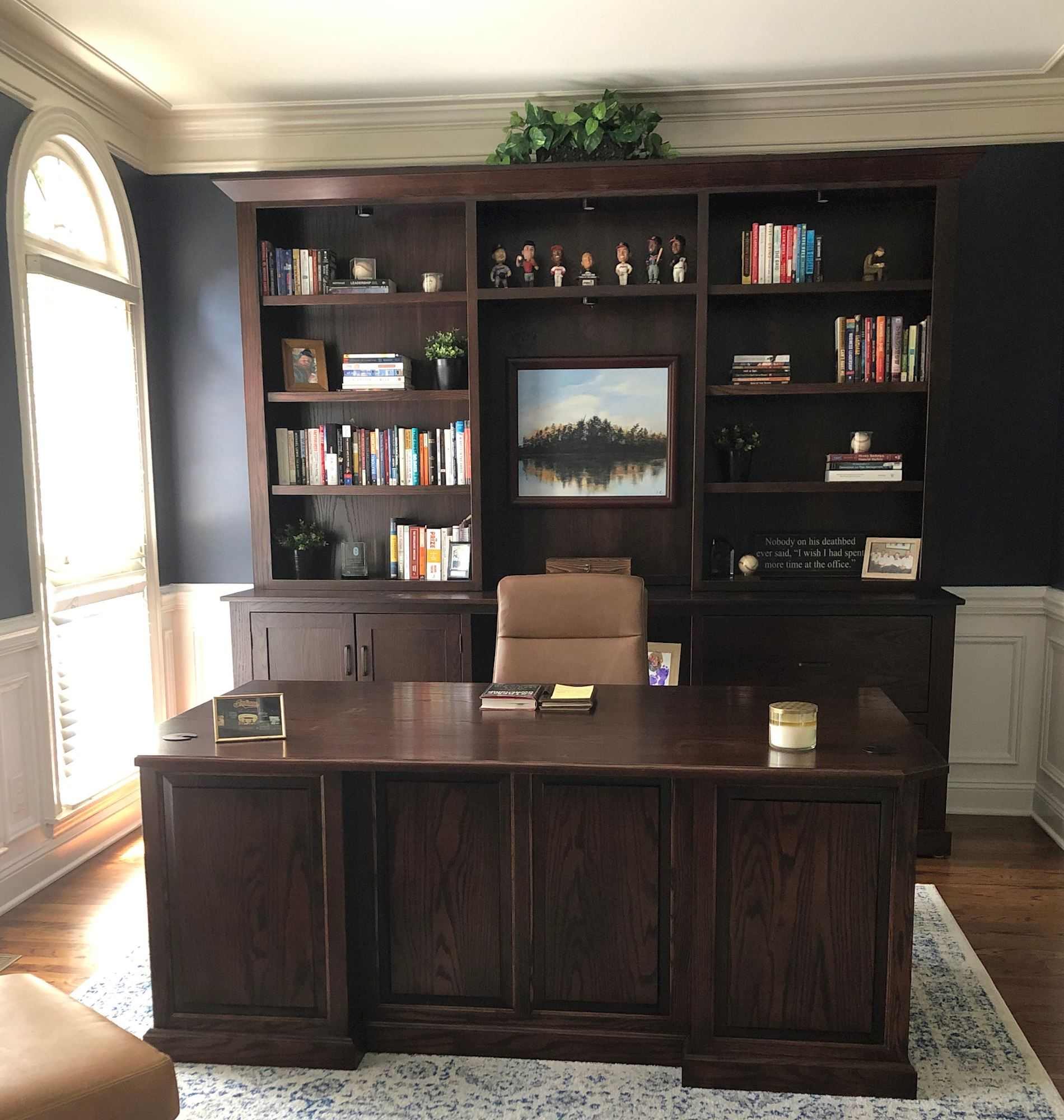 solid-wood-desk-bookcase