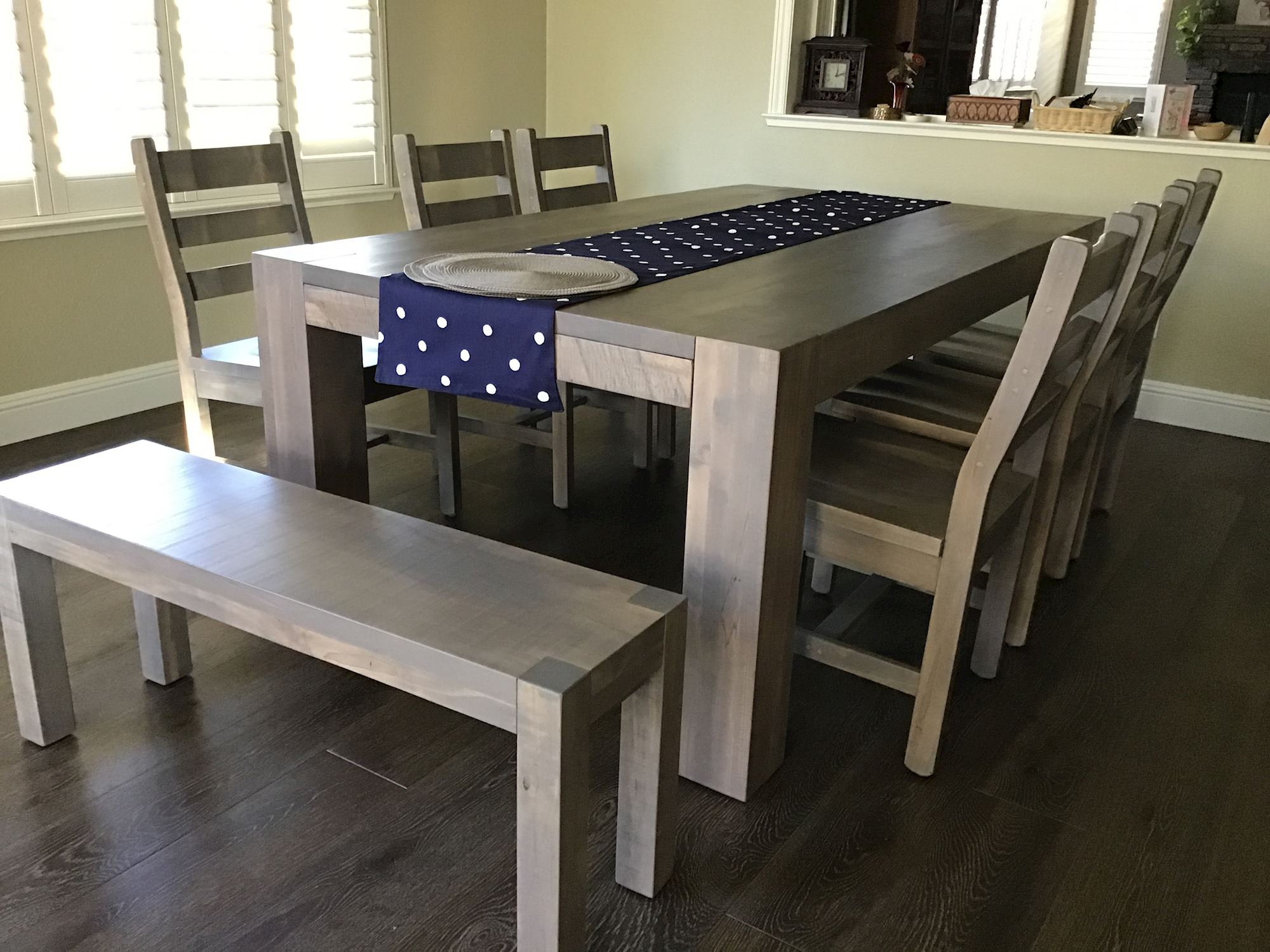 ruff-sawn-table