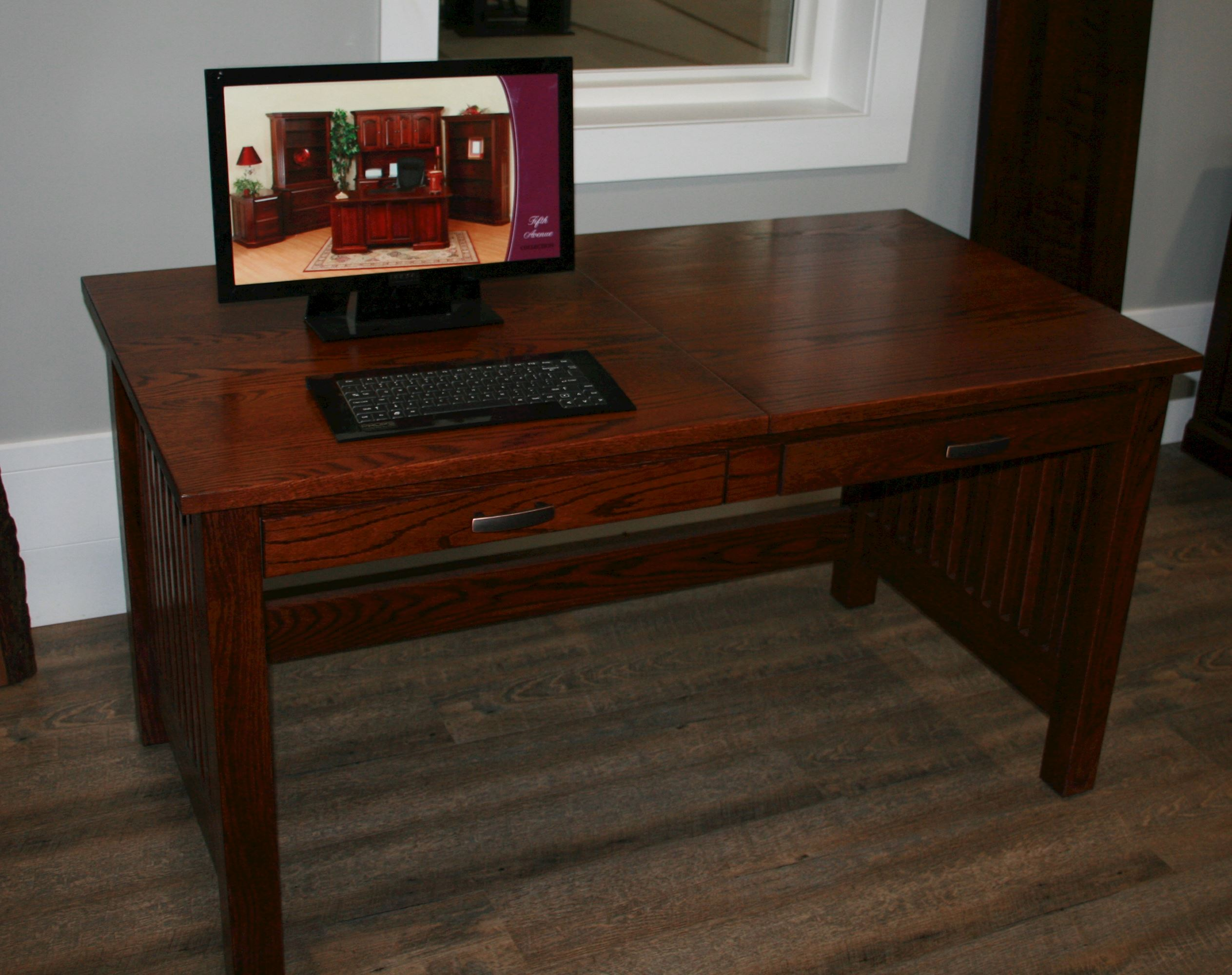 solid-wood-sit-stand-writing-desk