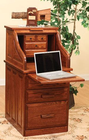 solid-wood-student-roll-top-desk