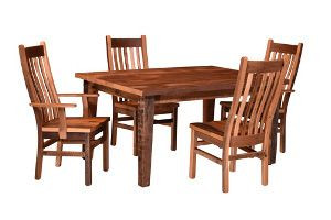 Almanzo Reclaimed Barnwood Dining Furniture Collection