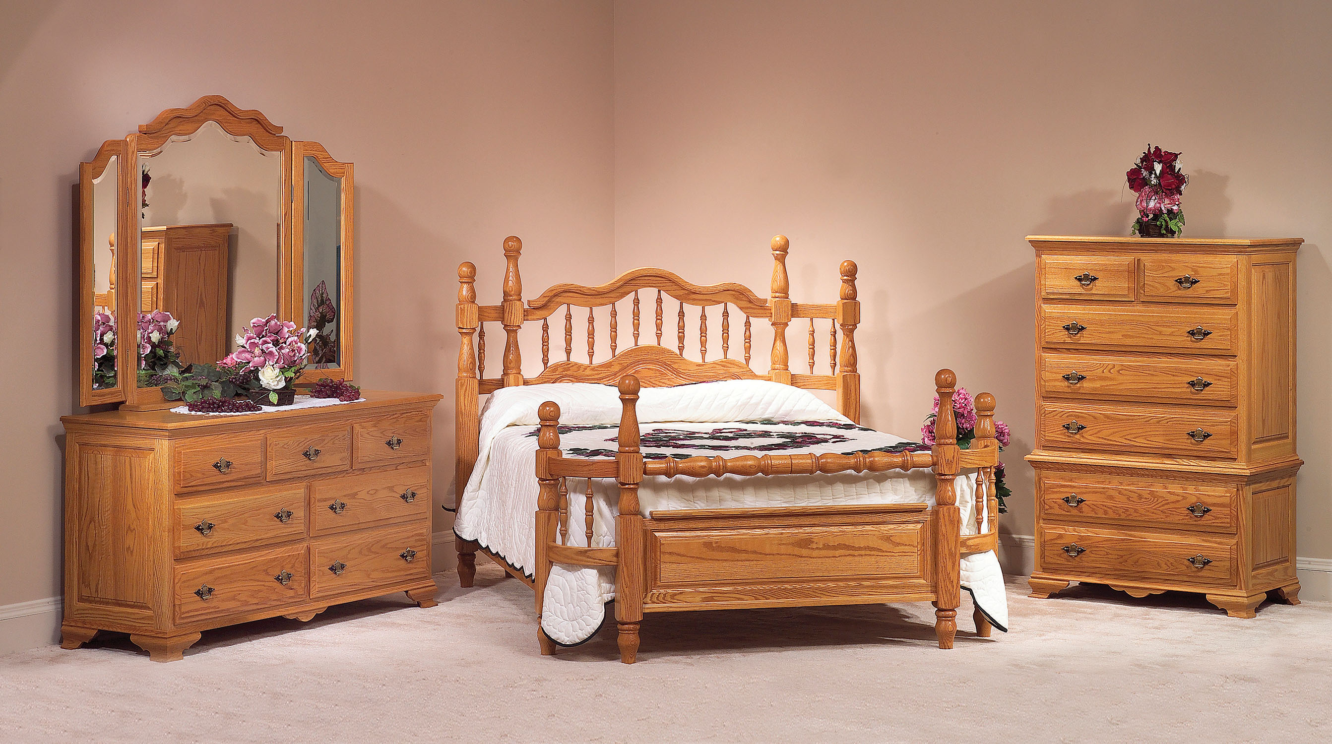 Handcrafted Solid Wood Amish Bedroom Furniture Collections