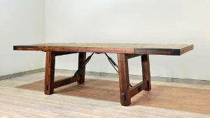 Ruff Sawn Benchmark Dining Furniture Collection
