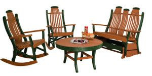 Bentwood Poly Outdoor Furniture