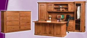 Custom Solid Wood Office Furniture