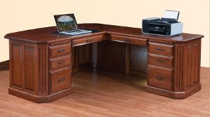 Solid Wood Executive Desks