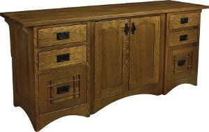 Solid Wood Credenzas