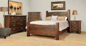 Ruff Sawn Live Edge Bedroom Collection