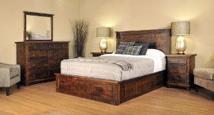 Ruff Sawn Muskoka Bedroom Collection