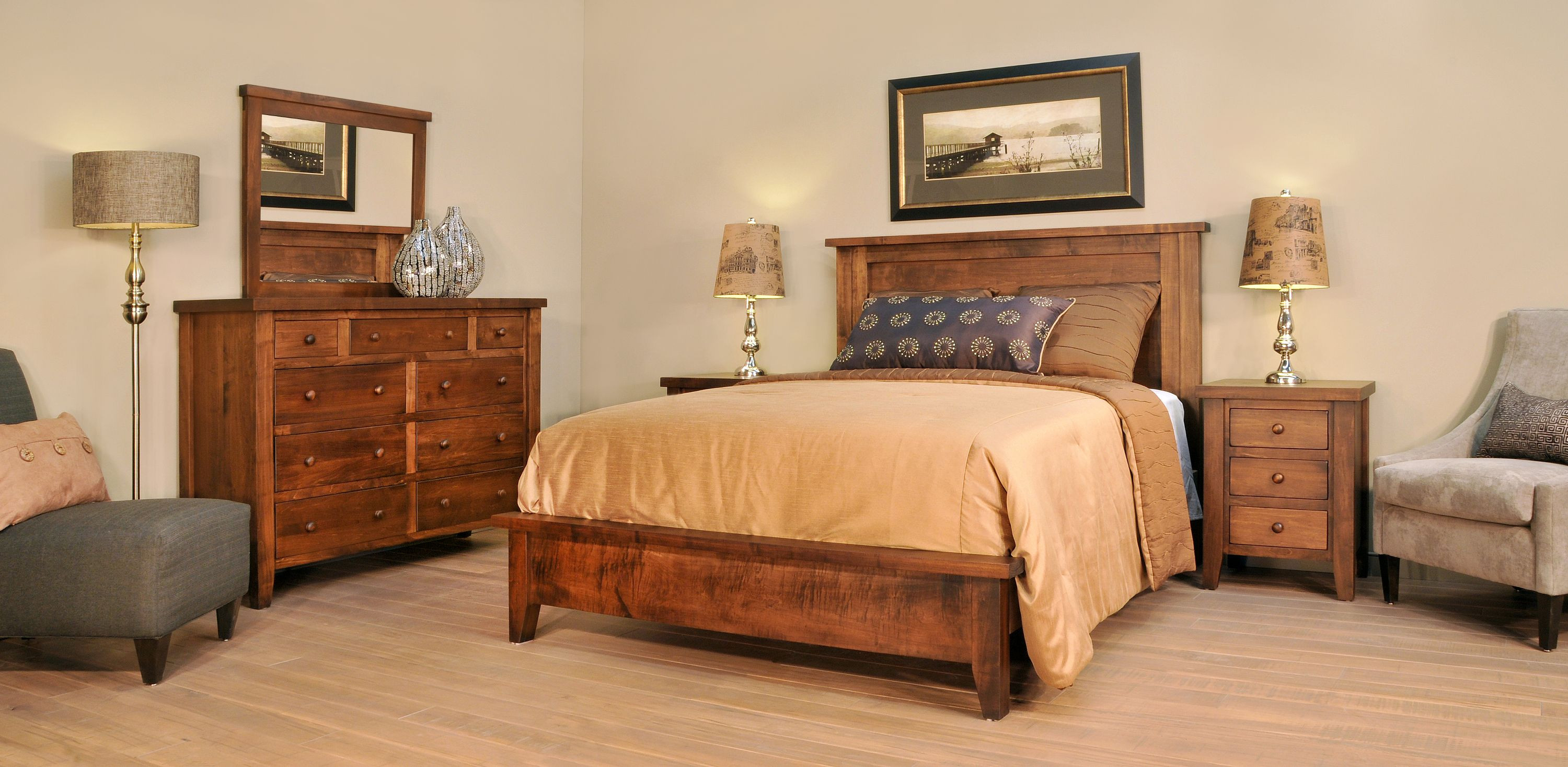 Ruff Sawn Farmhouse Bedroom Collection