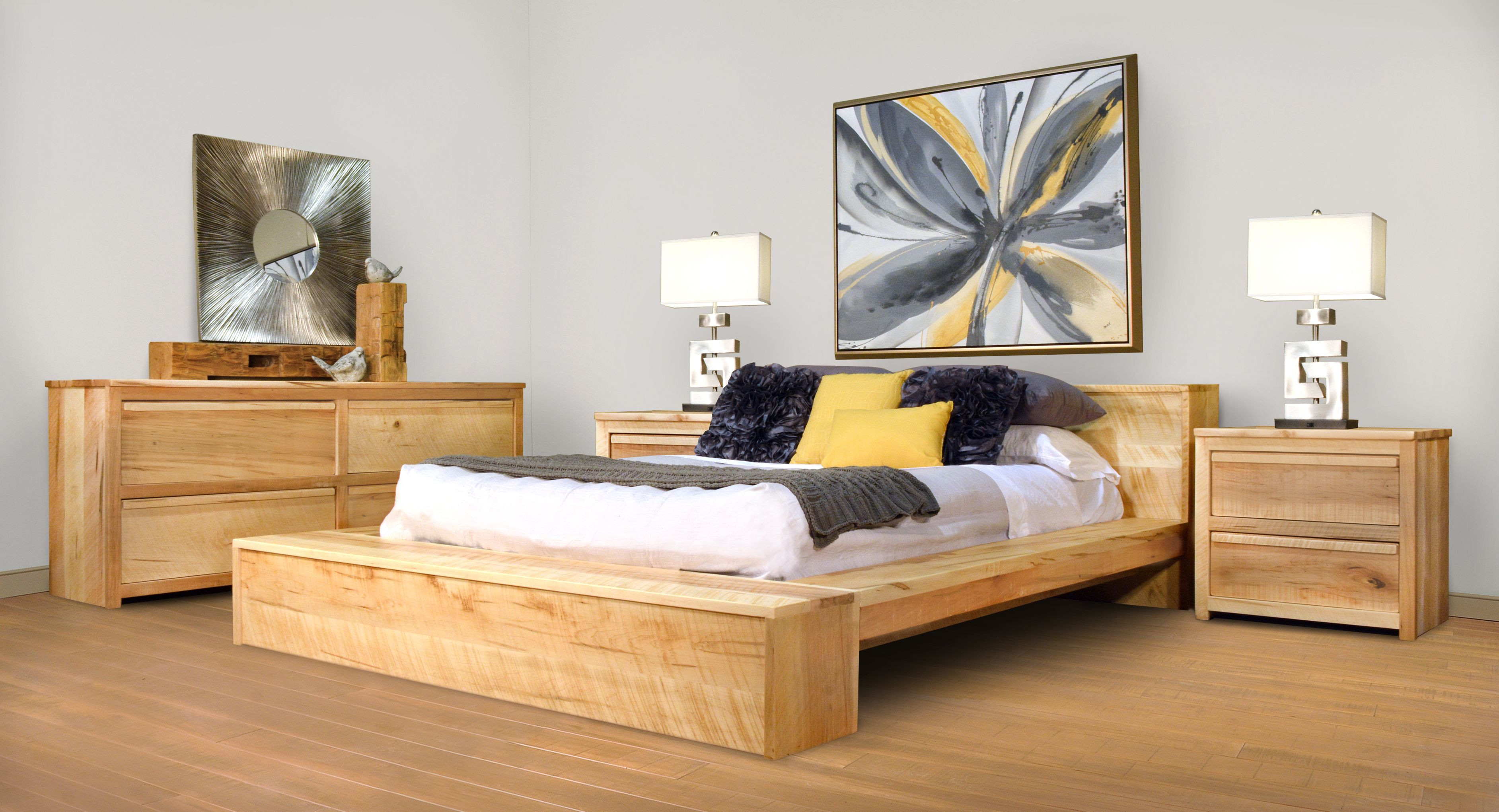 Ruff Sawn Hugo Bedroom Furniture Collection