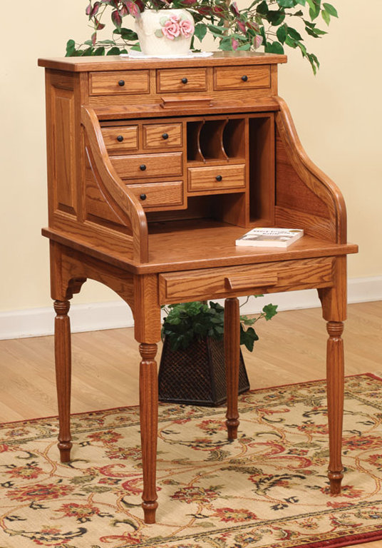 Small Solid Wood Desks