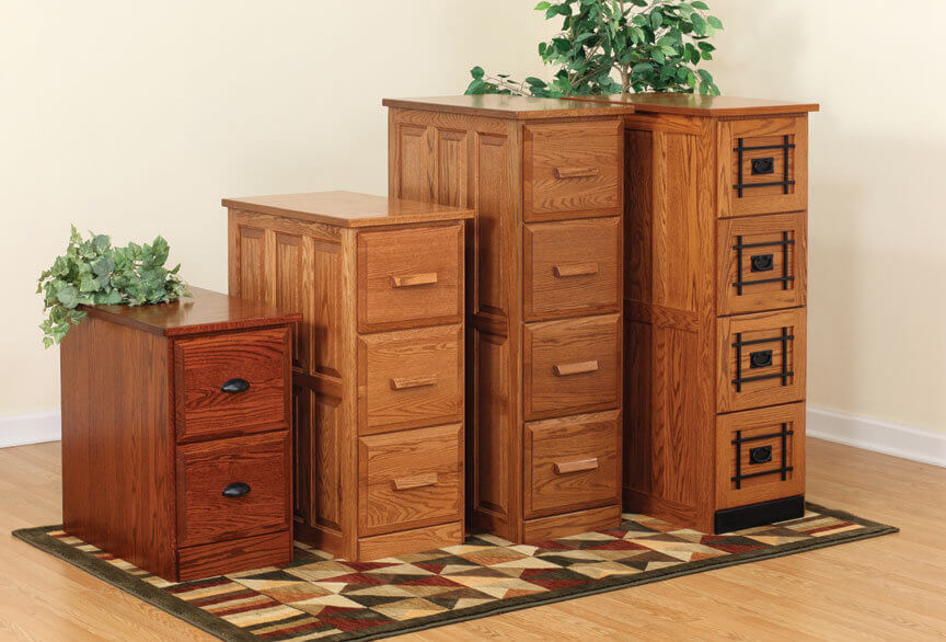 Solid Wood File Cabinets