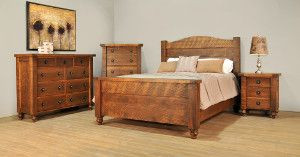 Ruff Sawn Tahoe Bedroom Collection