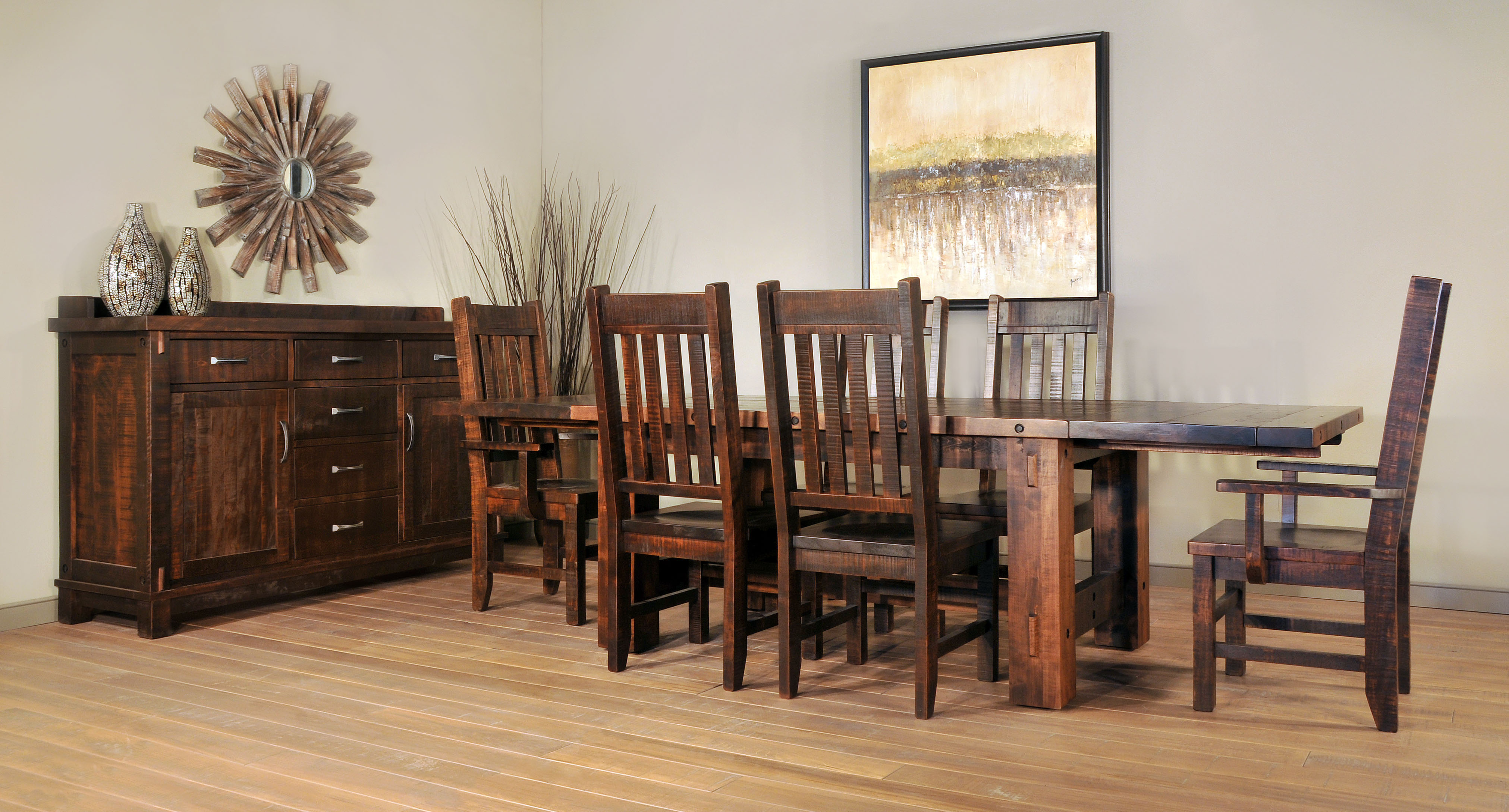 Ruff Sawn Furniture - Free Delivery
