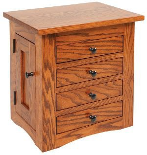 Amish Dresser Top Jewelry Chests and Jewelry Boxes