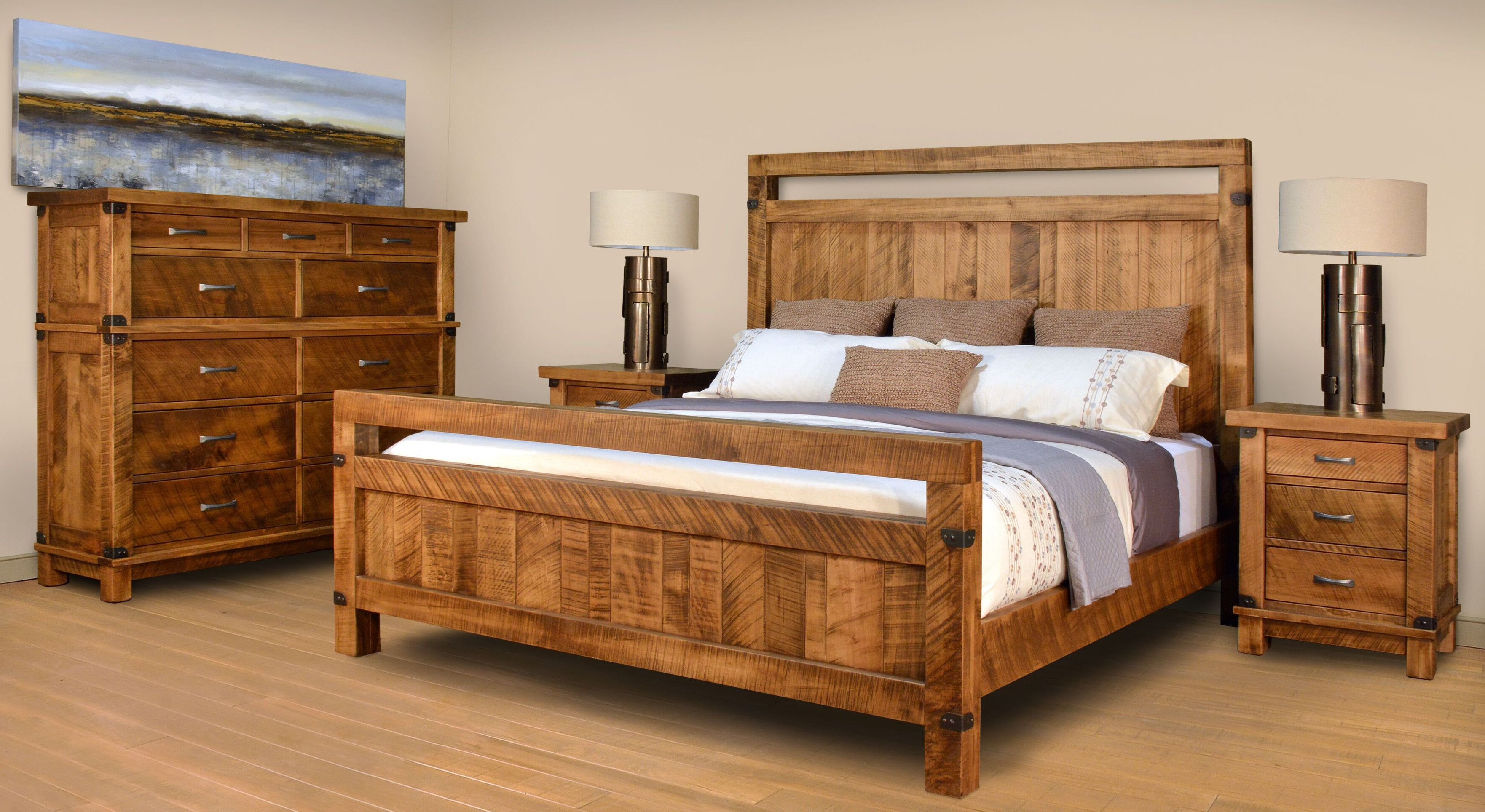Ruff Sawn Galley Bedroom Furniture Collection