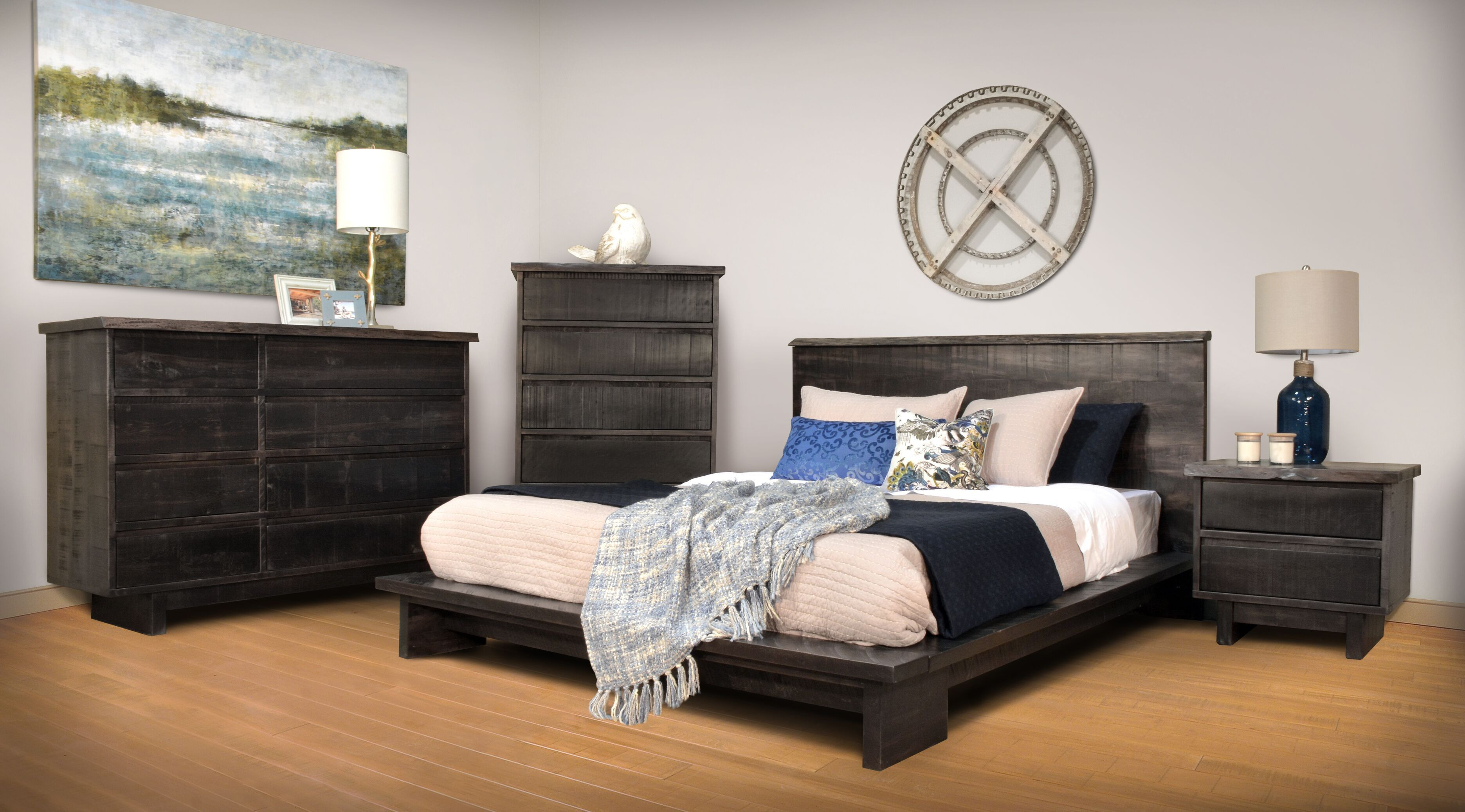 Ruff Sawn Modelli Bedroom Furniture Collection