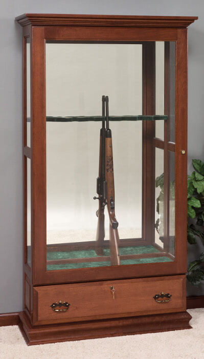 Glass Sliding Door Gun Cabinet