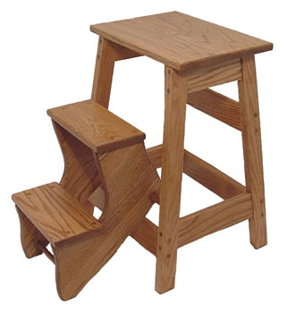 wooden folding step stool free shipping. Black Bedroom Furniture Sets. Home Design Ideas