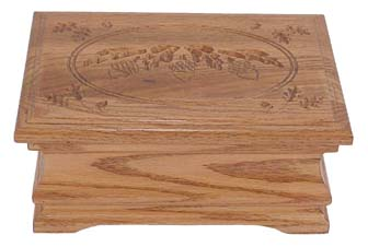 Jewelry Box Solid Oak