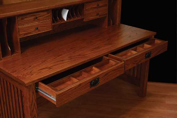 Amish Valley Mission Solid Wood Writing Desk