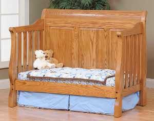 convertible sleigh crib. Black Bedroom Furniture Sets. Home Design Ideas