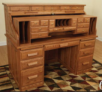 Roll Top Desk Features And Assembly
